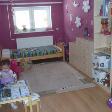 Pokój 2-letniej Zuzanny