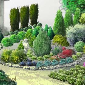 Najciekawsze projekty ogrodów