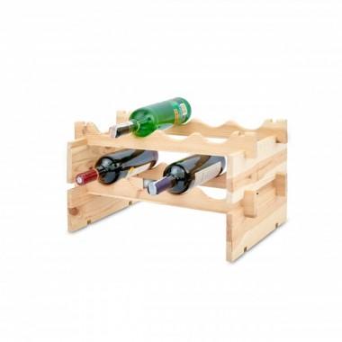 Idealna segregacja wina. Tutaj każda butelka ma swoje miejsce. To doskonały pomysł na prezent.