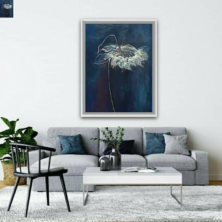 Salon, Moje obrazy we wnętrzach - Obraz