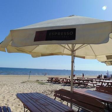 ..............i widok na plażę..................