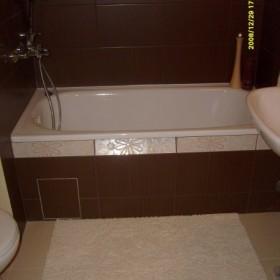 łazienka ...jeszcze nie skończona...