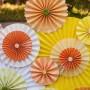 Pozostałe, Jak zrobić dekoracje na przyjęcie w ogrodzie? - Jak zrobić takie dekoracje z papieru?