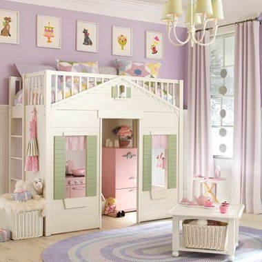 Bajeczne łóżka dla dziewczynek