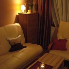 Duży pokój wieczorową porą:)))