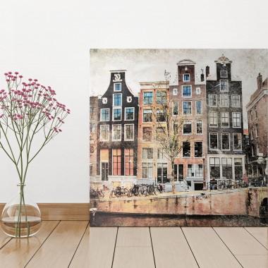 urzekające kamieniczki w Amsterdamie