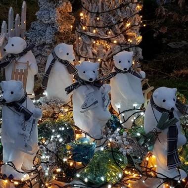 Świąteczne aranżacje do ogrodu