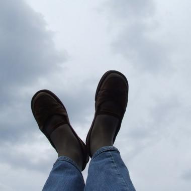 Spacer w chmurach...