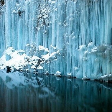 ...................i zima nad Niagarą .................fotka przysłana przez znajomych z Nowego Jorku...............