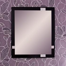 Swarovski na lustrze, lustro na ścianie..