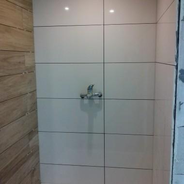Łazienka prawie skończona :)