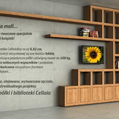 Półki na książki i biblioteczki