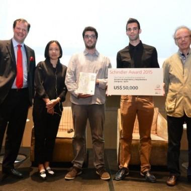 Pierwszy konkurs Global Schindler Award z nagrodą dla Hiszpanii