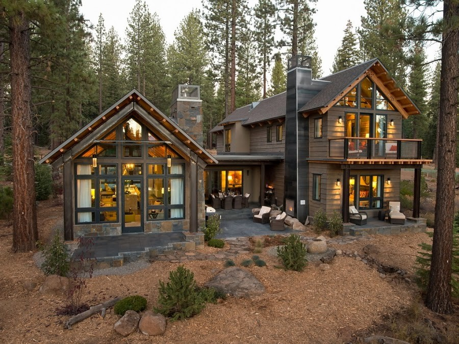 Domy i mieszkania, Rezydencja w lesie