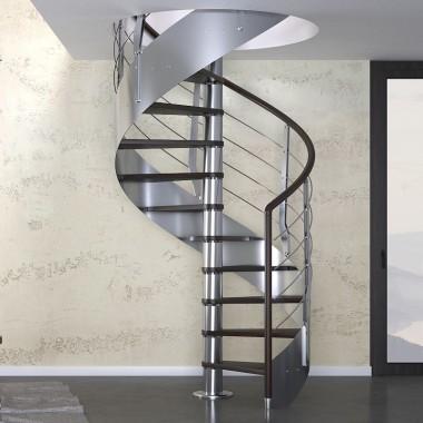 Inspirujące schody kręcone i spiralne