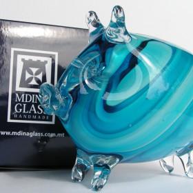 kolorowe świnki Mdina Glass