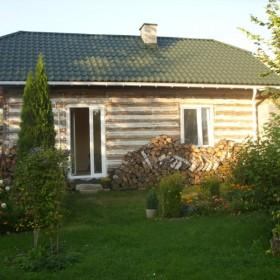 remont domku drewnianego c.d...