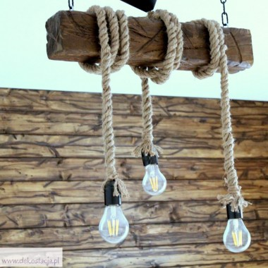 Lampa sufitowa zrób to sam
