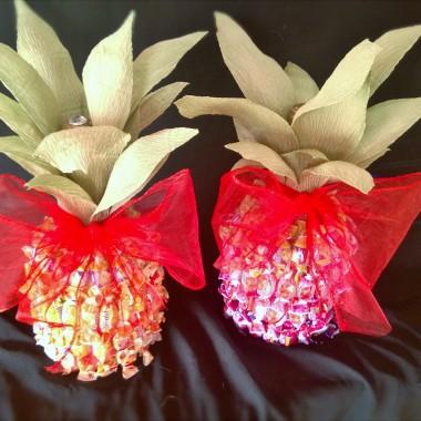Ukryta flaszka, czyli ananas z wkładką