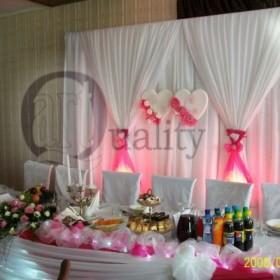 Dekoracje ślubne, weselne Dębica, Rzeszów, Mielec - Quality Art