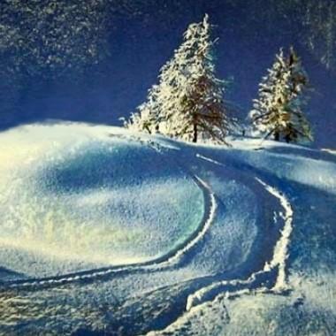 """'Zimowy pejzaż"""""""