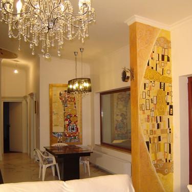 Artystyczne malowanie ścian, malowidła na ścianie, freski, grafi
