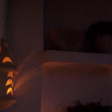 Mój balkon nocą