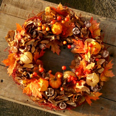 Wianuszek Słoneczna Jesień