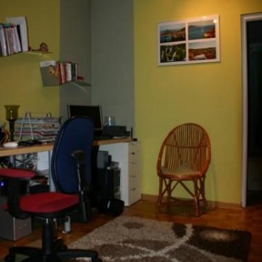 pokój, w którym spędzam mnóstwo czasu....:)))