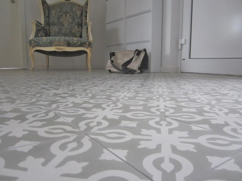 Zdjęcie 48 W Aranżacji Cementowe Płytki Podłogowe Salon I