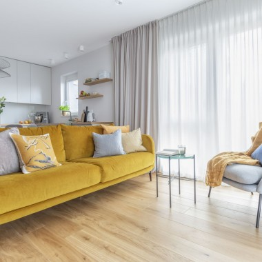 Mieszkanie na Białołęce w kolorach roku 2021