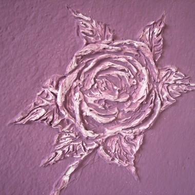 róże z gipsu