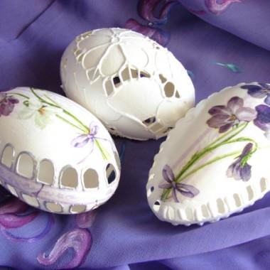 ażurki jajeczne