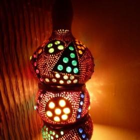 duzy wybór tykw w różnych kształtach.lampa lampy tykwa tykwy
