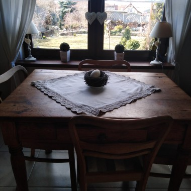 Nie mogłam się oprzeć jak świeci mocno słońce jest dłuższy dzień obowiązkowo żonkile pojawiają się w mojej jadalni na stole:) :) :)