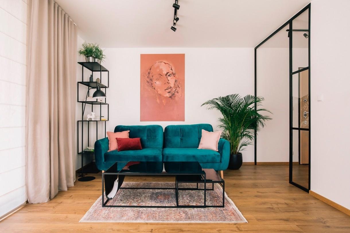 Salon, Gdańskie mieszkanie artystki