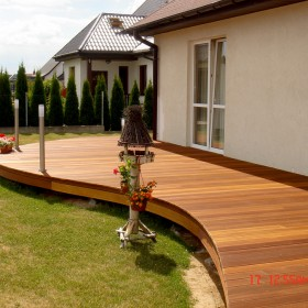 Tarasy drewniane - nasze realizacje