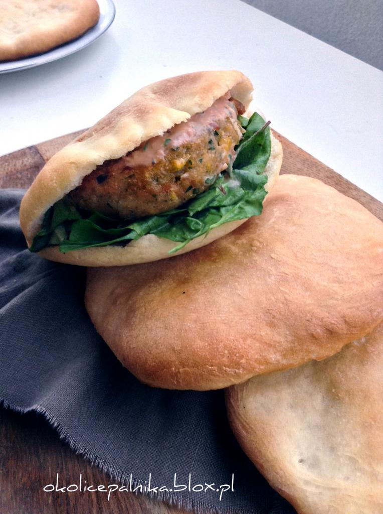 falafel w bułce