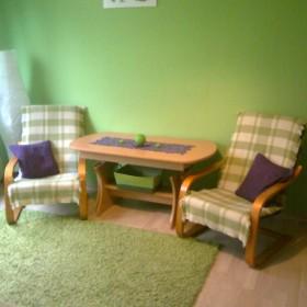 mini salonik i sypialnia w 1 :)