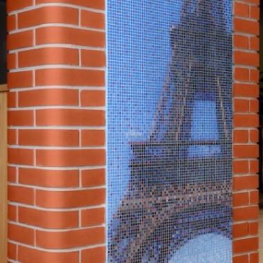 Graficzna Mozaika Szklana