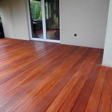 Taras drewniany w Baranowie