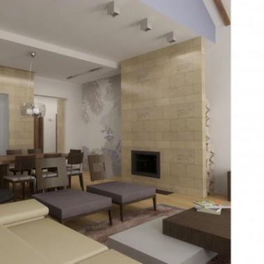 dom - rzeszów - projektowanie wnętrz