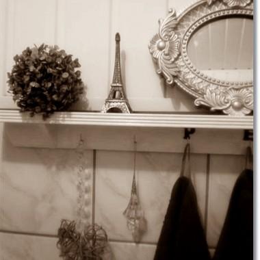 Serduszko,obrazki,napis,szafka,pojemniki na mydła i koszyk to moje przeróbki:)