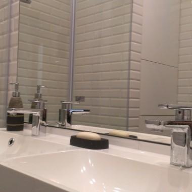 Łazienka w stylu paryskie metro