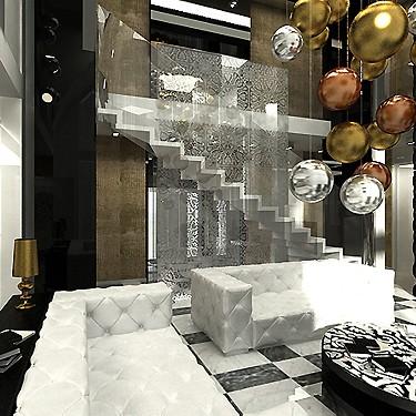 luksusowe wnętrze rezydencji