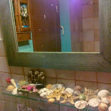 moja łazienka, styl - mhmm raczej morski ale nie marynarski - proszę oceńcie sami:)