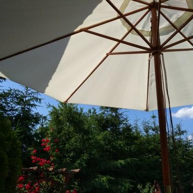 w taki upał tylko pod parasolem