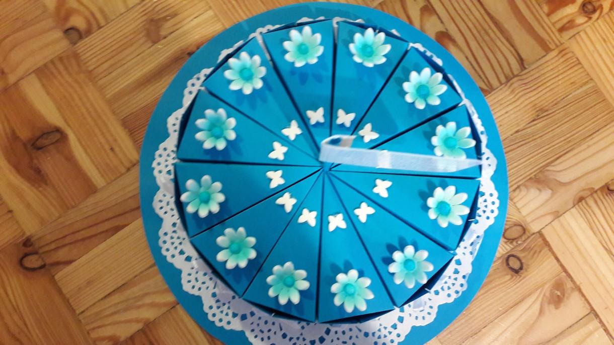 Dekoratorzy, Zrób to sam/papierowy tort