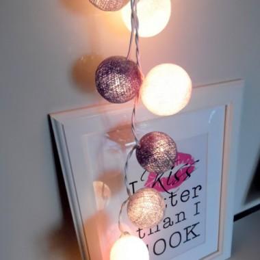 Dotarły moje Cotton Ball Lights