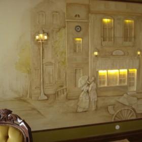 KAmieniczki na ścianie i inne dekoracje